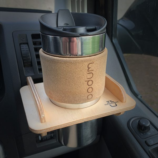 VW T5 Cupholder with tapered mug