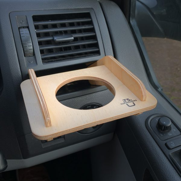 VW T5 Cupholder with can harness removed